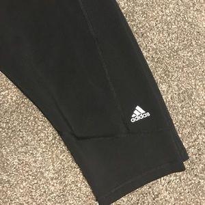 Adidas Climalite crop leggings XL workout pants